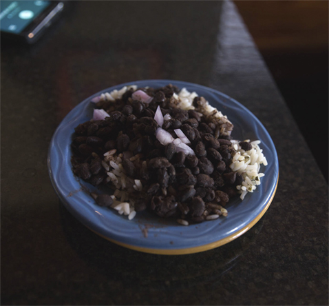 Mossfire Grill Black Beans & Rice