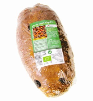 Pão com Passas Integral