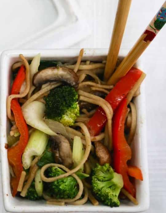 Vegan Vegetable Chow Mein