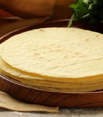 Corn tortillas recipe