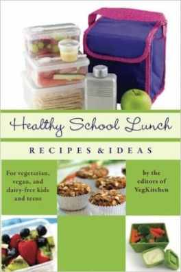 Healthy School Lunch cover