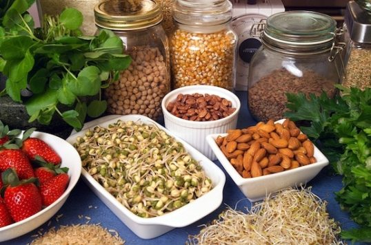 Healthy plant-based foods