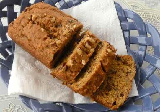 Pumpkin or squash mini-loaves recipe