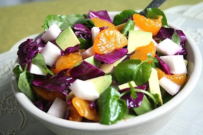 Avocado Orange Salad - 3