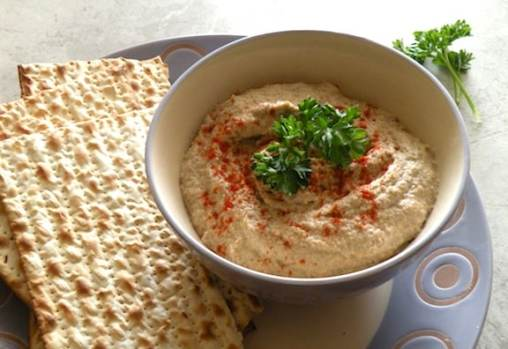 Passover Mock chopped liver (Mushroom, Cashew, and Onion)