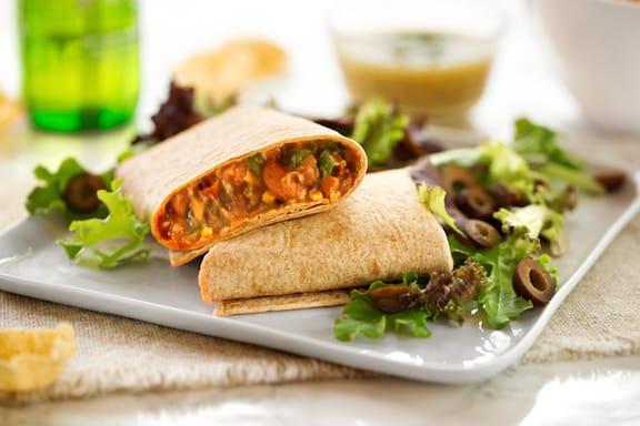basic vegan bean burritos recipe