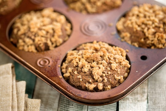Vegan molasses muffins