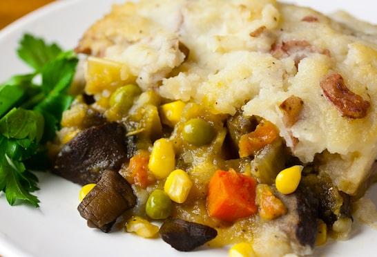 Vegan Holiday Main Dish Recipes, Shepherds Pie