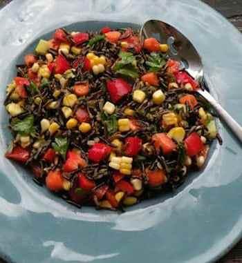 Wild Rice Confetti salad