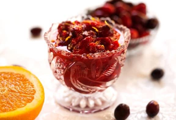 Cranberry-orange sauce recipe