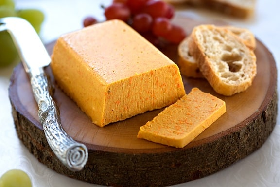 Smoky vegan cheddar cheez recipe