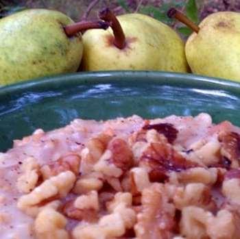 Maple Pear Oatlmeal
