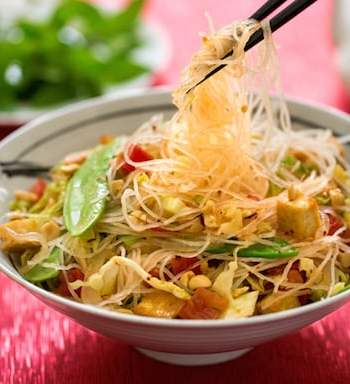Vietnamese-style bean thread noodles