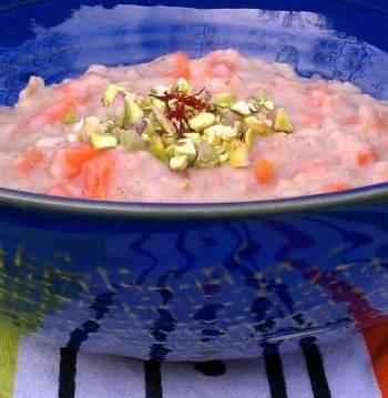 carrot cardomom oatmeal