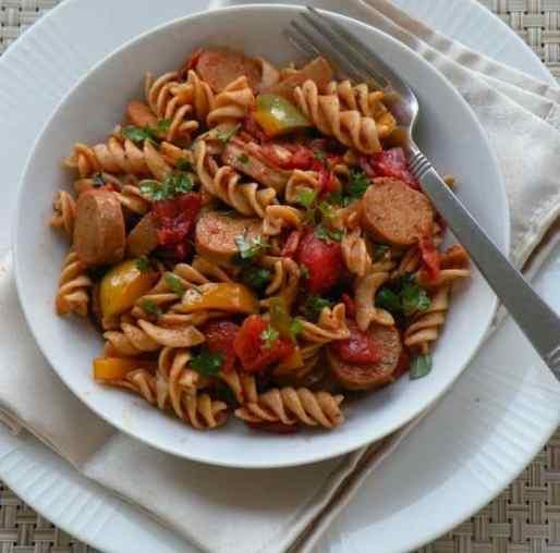 vegan pasta jambalaya recipe