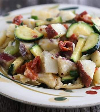 Mediterranean potato salad1