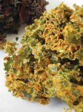 Pizza Kale Chips
