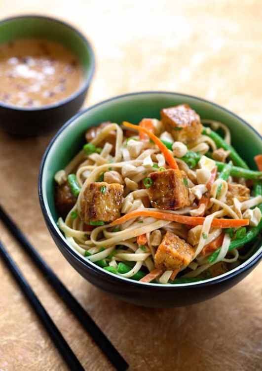 Southeast Asian-Flavored Noodles with Tempeh recipe
