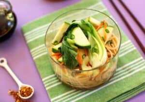 Asian Peanut-Sesame Noodles Recipe detail