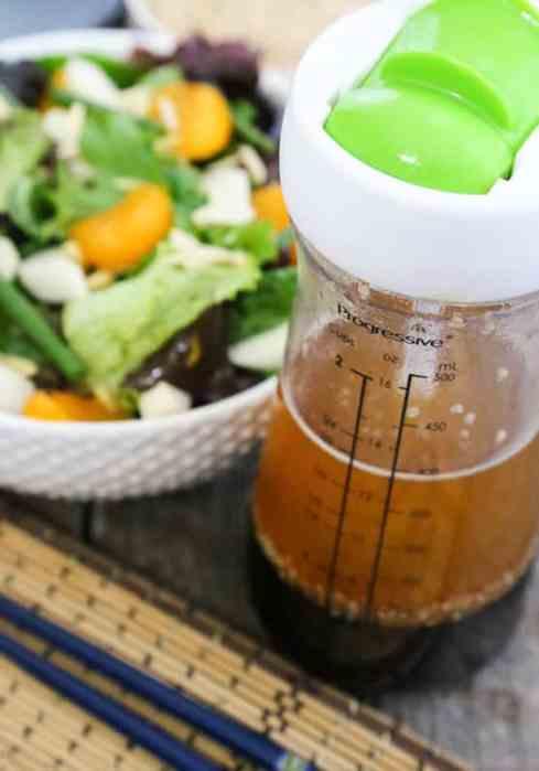 Sesame-Ginger Salad Dressing