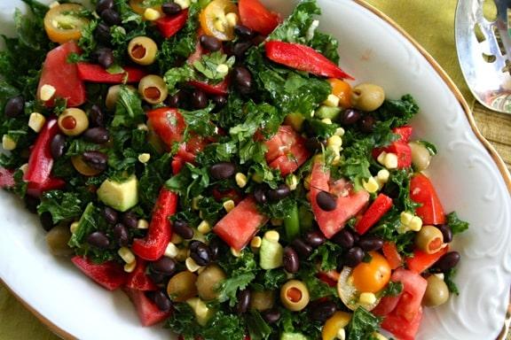 Southwestern Kale salad