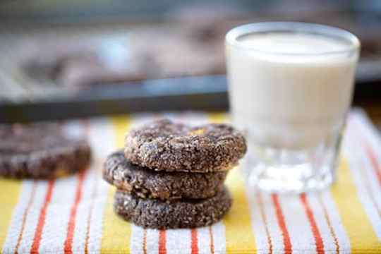 Black bean chocolate chip cookies