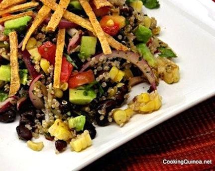 Mexican-Flavored Quinoa Salad