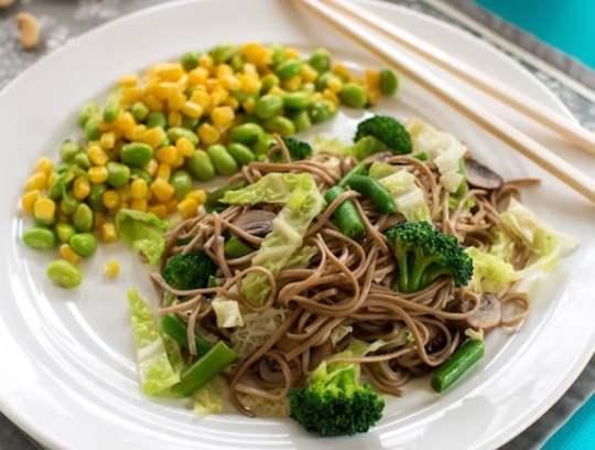 Veggie Lo Mein recipe