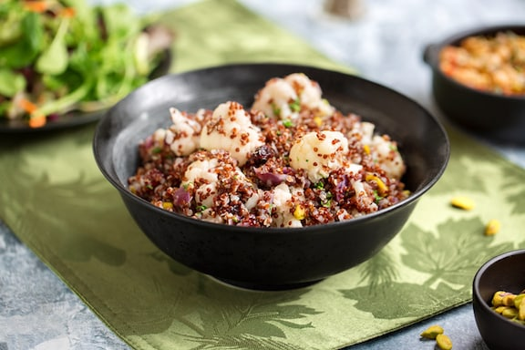 Quinoa Cauliflower pila