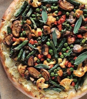 Shepherd's pie pizza