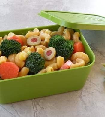 Lunch box pasta salad