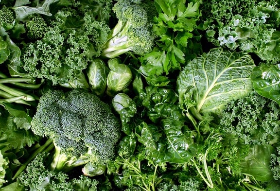 Green Vegetables and leafy greens