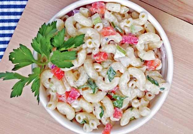 Creamy Macaroni Salad by Zsu Dever