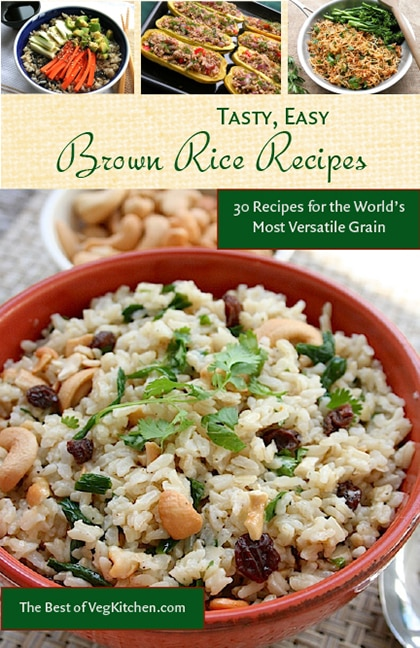 Tasty easy brown rice recipes pdf e book vegkitchen tasty easy brown rice recipes e book forumfinder Image collections