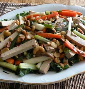 Chinese-syle shredded salad
