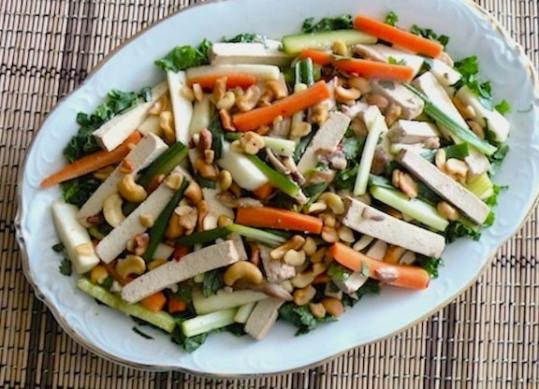 Chinese-style shredded salad recipe