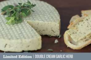 Double cream garlic from Miyoko's creamery