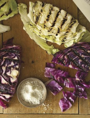 Grilled Cabbage from Joe Yonan