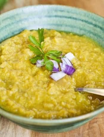 Curried Lentil Soup from Leslie Cerier