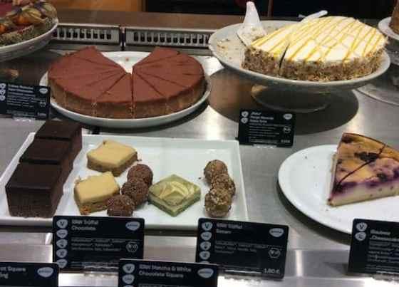 Veganz desserts