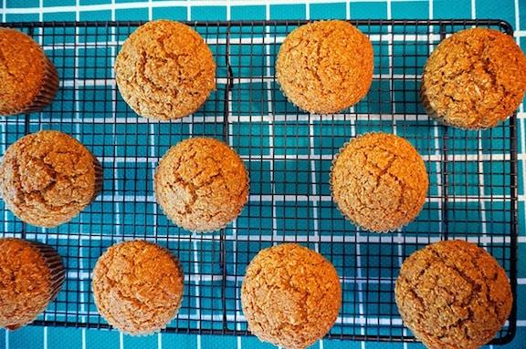 Vegan Lime muffins