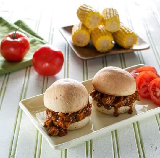BBQ Jackfruit Sandwiches