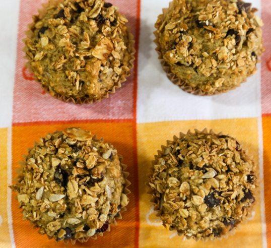 Crunchy Granola Muffins recipe