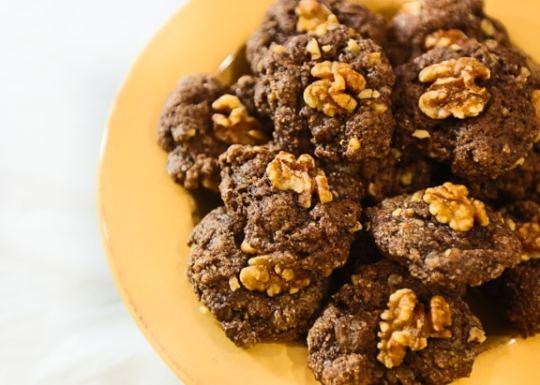 Vegan Einkorn cocoa cookies