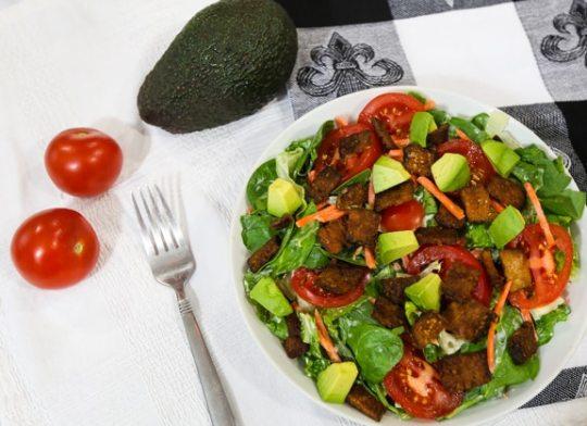 vegan BLT salad recipe