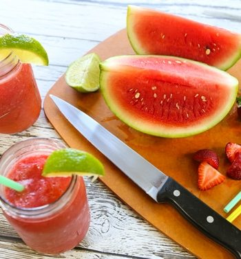 Strawberry-Watermelon Slush
