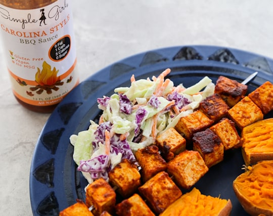 Stovetop BBQ Tofu Skewers recipe