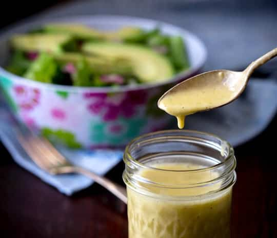 Apple Cider Vinegar Salad dressing from Healthy Seasonal Recipes