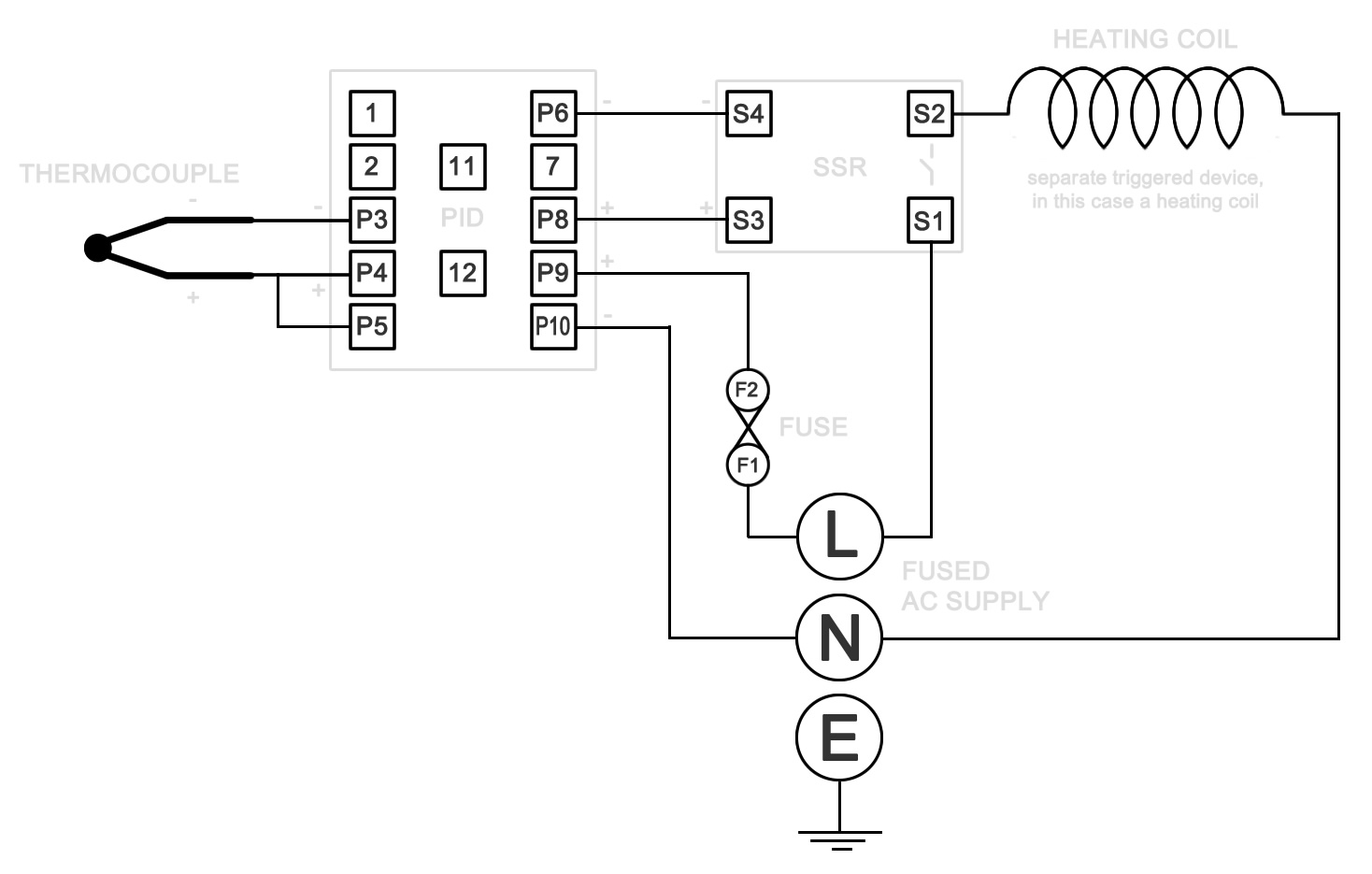 Ssr Relay Diagram