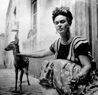 Gli animali nella vita e nell'arte di Frida Kahlo - Vegolosi.it